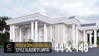 Video Desain Convention Hall Classic 2 Lantai Bapak Yudi di  Jambi
