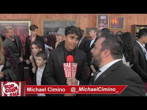 Popcorn Talk at the Annabelle Comes Home Red Carpet Premiere - Michael Cimino