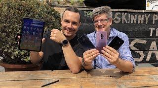 Samsung 2018: Galaxy S9, Note 9, Tab S4 und Watch im Vergleich