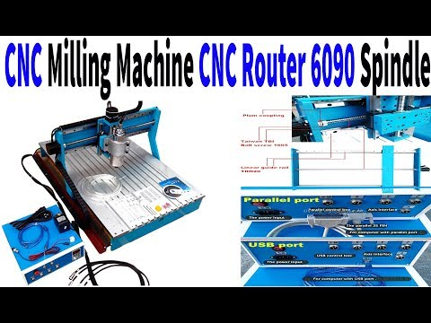 CNC Milling Machine CNC Router 6090 Spindle