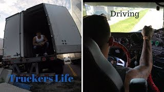 Truckers Life+ Shower+ Workout +Driving