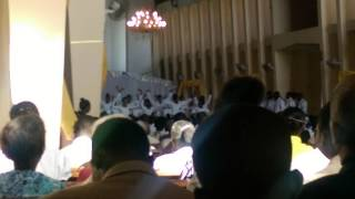 Mass at the Cathedral in Gonaives