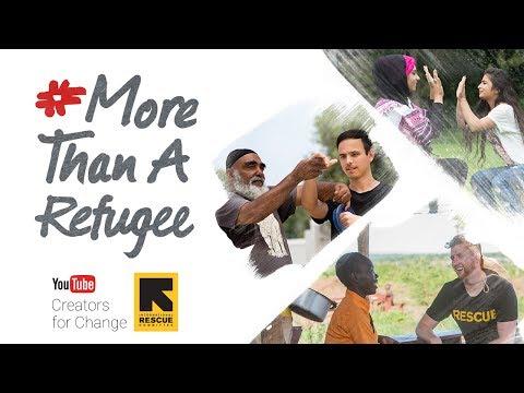 #MoreThanARefugee