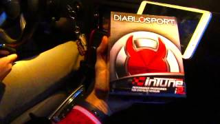 HOW TO Install and update your diablo tune kit! Dodge Charger RT