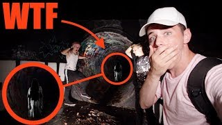(GONE WRONG) We Found A Demon Little Girl In The Haunted FaZe Rug Tunnel (Extremely Scary)