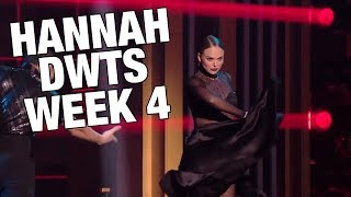 Hannah's Back on Top of DWTS