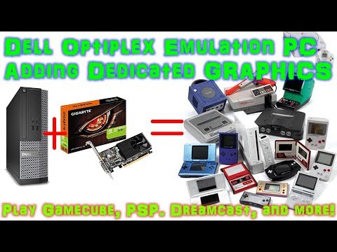 Cheap Emulation PC With LaunchBox Dell Optiplex 3020 GT 1030