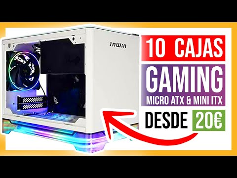 🥇 10 MEJORES CAJAS para PC GAMING micro ATX & mini ITX CALIDAD PRECIO 2020 🚀 GABINETES GAMERS