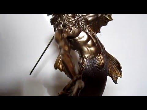 escultura de poseidon en color bronce nuevo. Cargando zoom. aef8f20d00ec