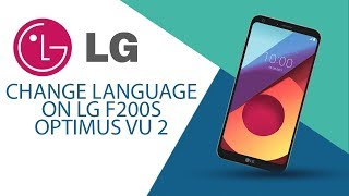 How to change language on LG Optimus Vu 2 F200S?