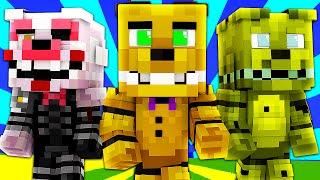 FNAF World - SPRING BONNIE! (Minecraft Roleplay) Night 28