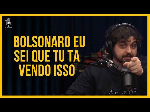 MONARK SE ALTERA E MANDA RECADO PARA BOLSONARO l Cortes Podcast Brasil :D