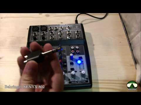 Vorstellung #1 Behringer XENYX 802 Mischpult [Deutsch]