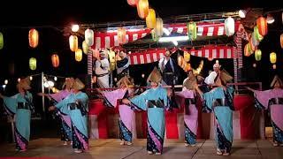輪島・三夜おどり2017-保存会による舞台踊り-