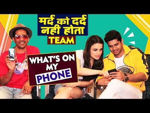 Celebrity Interview- What's on your phone