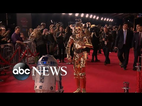 Inside the 'Star Wars: The Last Jedi' premiere