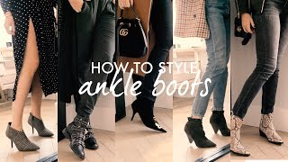 HOW TO STYLE ANKLE BOOTS THIS AUTUMN | WE ARE TWINSET