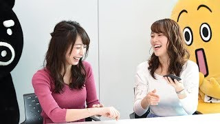 史上初!?TBSとテレ東のアナウンサーが共演!局の垣根を超えたパラビPR作戦開始!