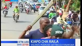 Baada ya Raila Odinga kuapishwa katika bustani ya Uhuru wenyeji wa Kisumu walisherekea hatua hiyo