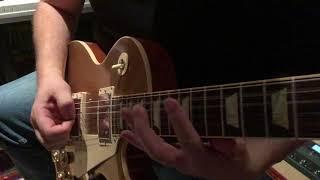 Testar en Gibson Les Paul Gold top
