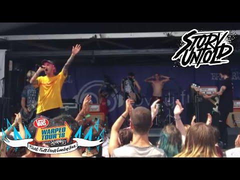 Delete - Story Untold LIVE at Warped Tour 2018 - Hartford, CT (видео)
