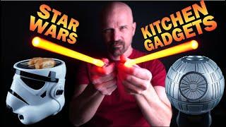 Testing 5 Star Wars Kitchen Gadgets!
