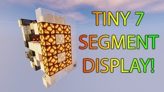 7 Segment Display Tutorial Minecraft म फ त ऑनल इन