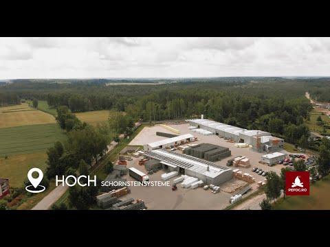 Transport, descarcare, depozitare - modul de aprovizionare cu sisteme ceramice de cos de fum germane Hoch