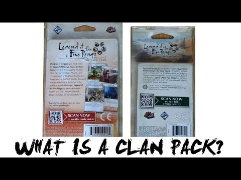 What is a Clan Pack for Legend of the Five Rings (L5R) LCG – Imperial Chronicle