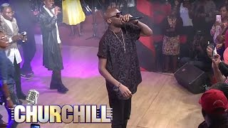 "2Face Idibia performs ""African Queen"""