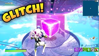 I GLITCHED Inside the UFO and Found the CUBE in Fortnite!