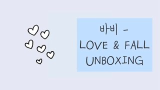 ikon bobby love and fall album unboxing - TH-Clip