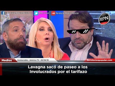 Lavagna sacó de paseo a los Involucrados por el tarifazo