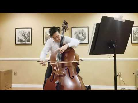 Bach Cello suite, no.4 Courante