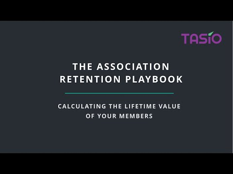Calculating the Lifetime Value of Your Members