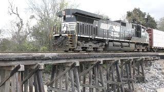 [4Z] How NS Interchanges With CN In Hattiesburg, MS, 03062017 ©mbmars01