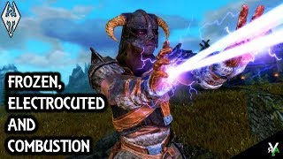 FROZEN AND COMBUSTION REALISTIC: Immersion Mod!!- Xbox Modded Skyrim Mod Showcase