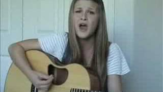 Me Singing Four Walls by Cheyenne Kimball