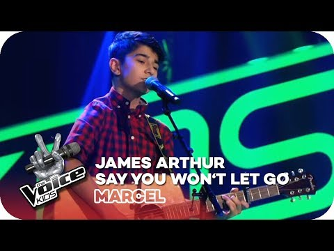 James Arthur - Say You Won't Let Go (Marcel) | Blind Auditions | The Voice Kids 2018 | SAT.1