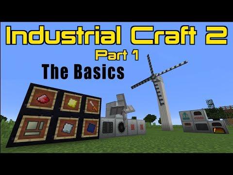 Industrial Craft 2 (Part 1) The Basics | Minecraft 1.12.2