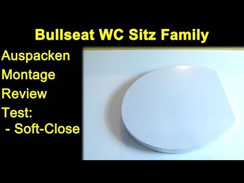 Bullseat Wc Sitz Family Familie Duroplast Auspacken Montage Test