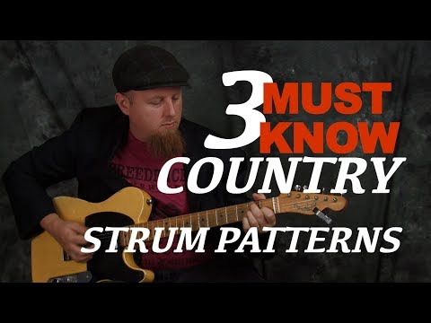 Learn to play acoustic guitar many strum patterns lesson - Playing...
