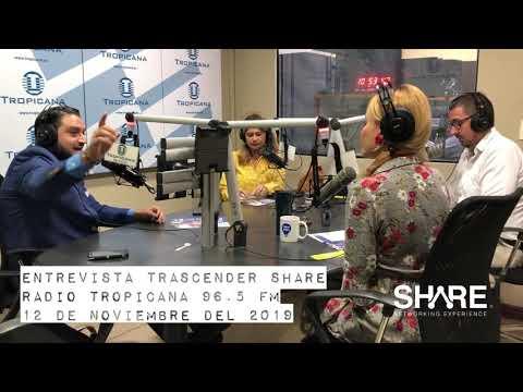 Entrevista Trascender Share 2019 - Radio Tropicana 96.9 FM