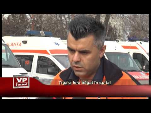 Tigara le-a bagat in spital