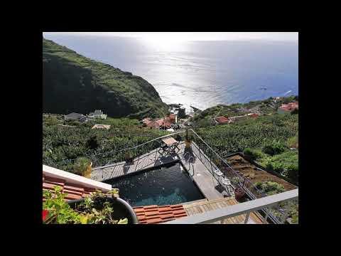 3 Schlafzimmer Villa mit Meerblick, Pool und Garten, in Calheta, Madeira