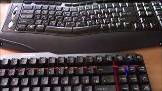 Сравнение механической и мембранной клавиатуры