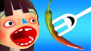 Permainan Anak Gila Makan - Masak Masakan - Raja Makan - Permainan Anak Rakus Makan