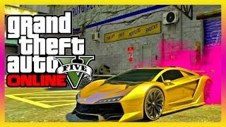 GTA 5 DLC Gold Paint, Pink Tire Smoke, & More HIPSTER DLC (GTA V)