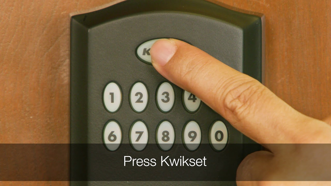 Disabling the Thumb Piece on the Kwikset Smartcode 955