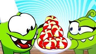 Om Nom Kisah | Cabaran memasak | Video lucu | Video untuk kanak-kanak